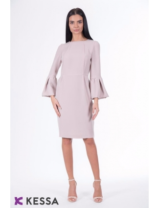 ROCHIE ALL DAY LONG CU MANECA AMPLA NUDE