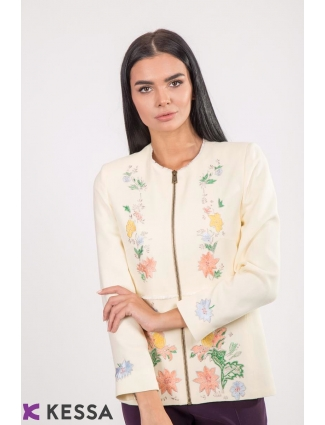 SACOU BRODERIE CHIC