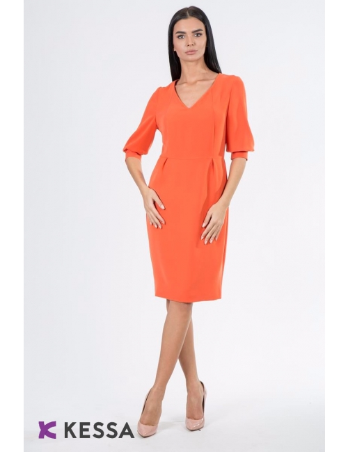 ROCHIE ALL DAY LONG MANECA SCURTA ORANGE